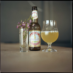 . (Ansel Olson) Tags: 6x6 mamiya tlr film beer mediumformat print virginia kodak richmond va medium format bier wit portra mannekenpis carytown c330 160nc 80mmf28 littlemanpee blanchedebruxelles seccowinebar