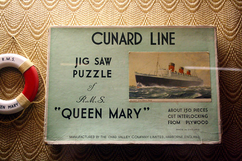 Queen Mary - Old Jigsaw