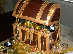 Treasure Chest (Cakes By Jen) Tags: cake treasure princess chest pillow loot pirate