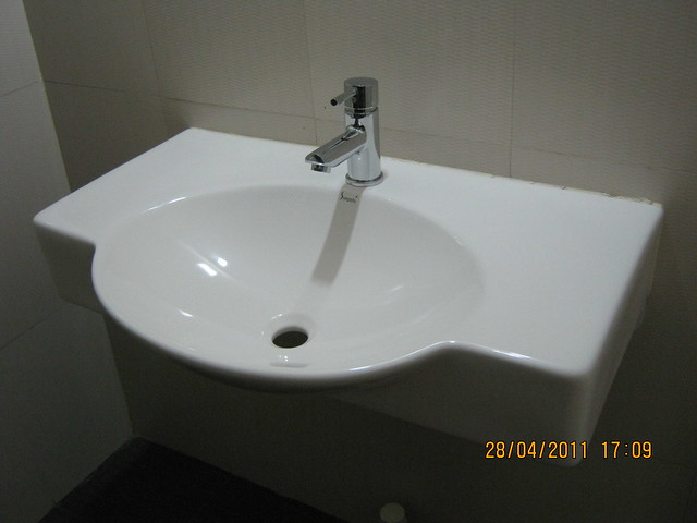 Wash basin in  Sangria Towers at Megapolis Hinjewadi Phase 3, Pune