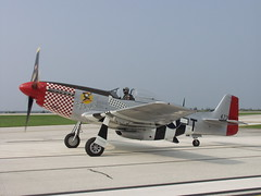 P-51 D Mustang Shangrila - Taxing at Burke Lakefront Airport (David Lahrman) Tags: show ohio classic 2004 vintage airport fighter aircraft aviation air cleveland airshow planes mustang airforce usaf propeller burke prop warbird lakefront aeronautics p51 taxiing northamerican cnas