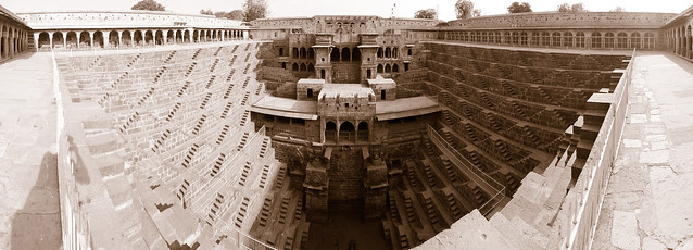 Chand Baori step well in Abhaneri