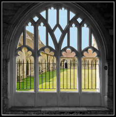 Cathedral Window (Azurian Vista) Tags: west color colour window sussex nikon cathedral nikkor chichester selective d7000