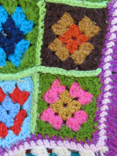 Close up of the squares