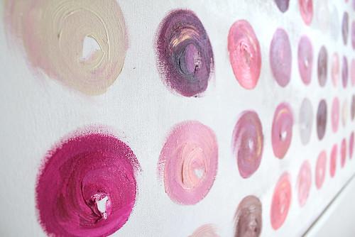 CocoaandHearts_Lipstick Dots 1 Artwork by Jen Ramos
