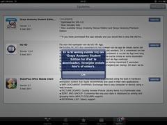 Vrije ruimte op de iPad