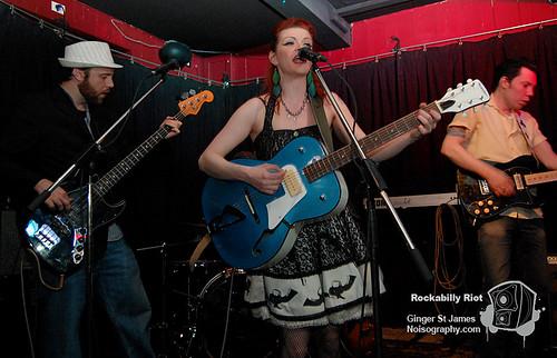 Ginger St James - Rockabilly Riot - April 30th 2011 - 07