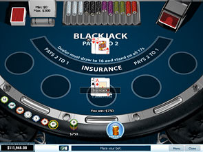 Blackjack Single Player Strategy