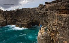 """""""Boca do Inferno"""" (Pepelahuerta) Tags: paisajes portugal mar cielos atardeceres atlantico costas acantilados canon1022mm oceanos polarizador canon40d concordians ultraangulares pepelahuerta heliopan105mm seacascais"""