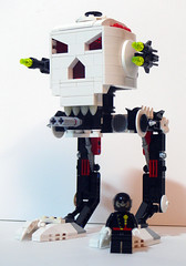 All Terrain Skull Terrorizer (AT-ST) (Oky - Space Ranger) Tags: st skulls star lego space walker wars invasion 3vil