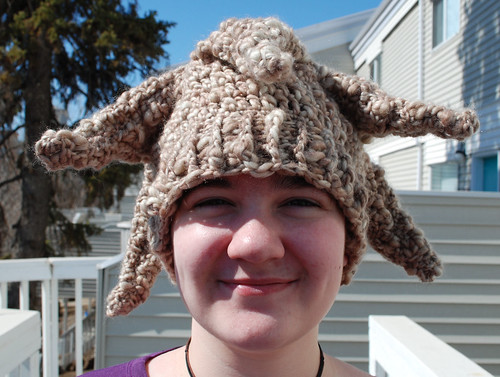 Experiment: starfish hat