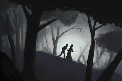 Enchanted Stag - Scene 1 Concept Art