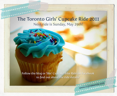 Toronto Girls' Cupcake Ride - May!