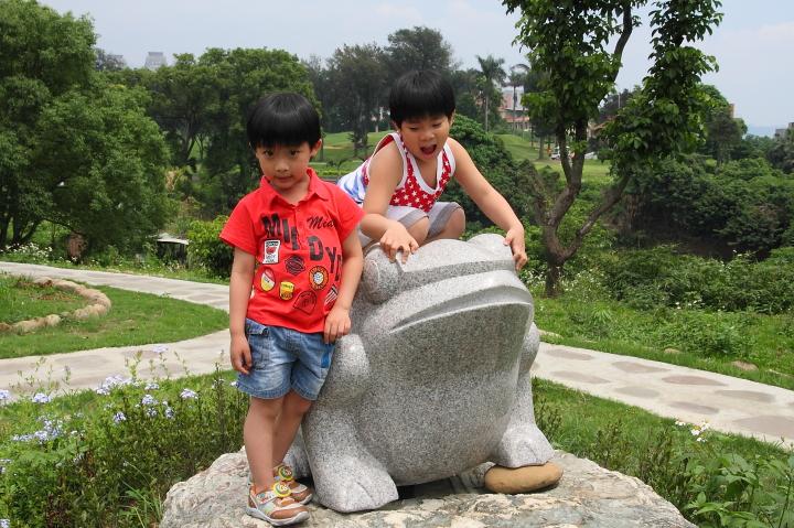 淡水和平公園、一滴水紀念館0002