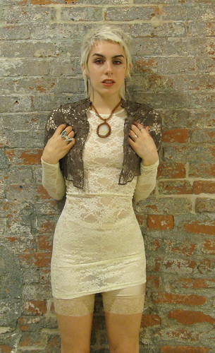 Fore SALE on my etsy: Vintage Lace Crochet Shrug.