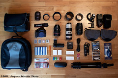 1/365 [365 Project] - What's in my bag? (Stefano.Minella) Tags: start photoshop canon project bag eos is photo with post whats go may here we production 365 1855mm 18 today efs th stefano facebook lightroom 1365 500d 2011 minella f3556 cs5 mygearandme