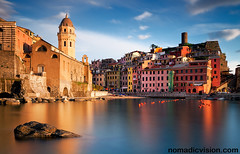 Italy - Vernazza: Beauty (John & Tina Reid) Tags: italy vernazza cinqueterra fishingvillage italianvillage travelphotography johnreid italiancharm harbourvillage tinareid wwwnomadicvisioncom colourfulfishingvillage