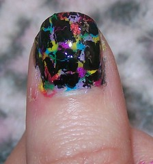 nail art crackle 2