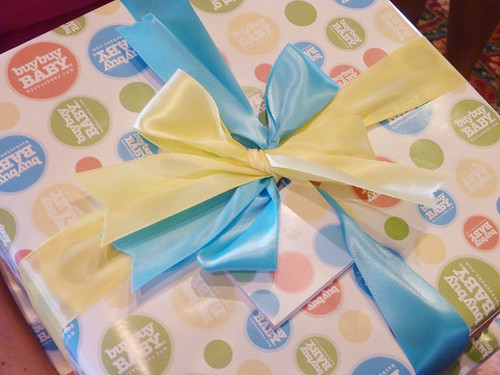 Buy Buy Baby wrapping