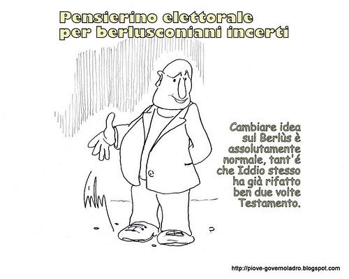 Consigli Elettorali per Berlusconiani cattolici incerti by Livio Bonino