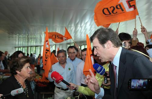 Pedro Passos Coelho arruada em Vila RealIMG_2396