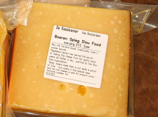 Dutch Slow Food Raw Cow's Milk Gouda Cheese