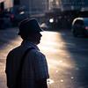 Candid shot #001 (Danskie.Dijamco.Photography) Tags: street sunset shadow man hat silhouette backlight nikon ipod candid streetphotography photojournalism scene mp3 snapshots checks 105mm scee checkeredshirt paparrazzi d700 danskie danskiedijamco