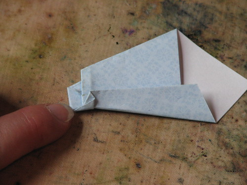 Origami Shirt Card & Tie 015