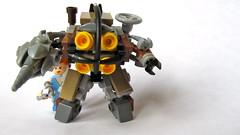 LIttle Sister & Big Daddy (Imagine) Tags: toy lego videogame minifig littlesister mech bigdaddy moc bioshock imaginerigney