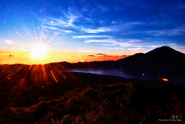 Sunrise view from Mount Batur - 1717masl