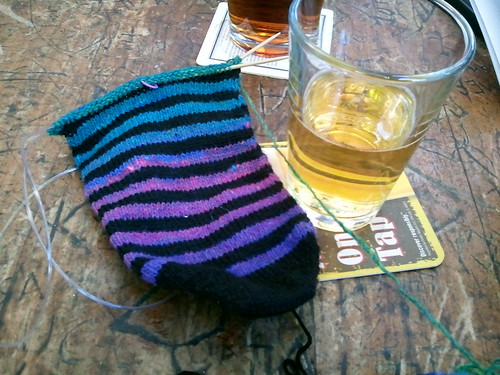 Sock and A Beer