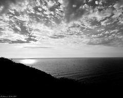 hidden sun (FedeSK8) Tags: sunset italy sun white black volcano mediterraneo italia tramonto mare sicilia vulcano stromboli fedesk8