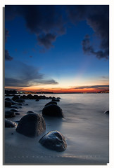 ** Twilight @ Punggol Beach Singapore ** - Explored (www.glenespinosa.com) Tags: sunset silhouette digital singapore technique dri blending tokina1224f4 canon7d sunsetatpunggolbeachsingapore twilightpunggolbeachsingapore