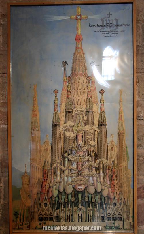 undone entrance of sagrada familia