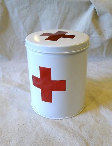 Angle First Aid Tin