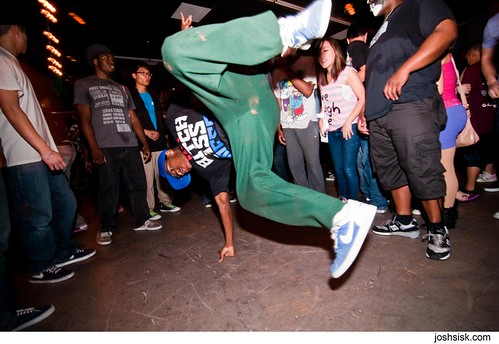 Breakdancers at 4 Hours of Funk