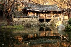 Namganjeongsa (HDH.Lucas) Tags: cannon hanok traditional house pond tree lucas