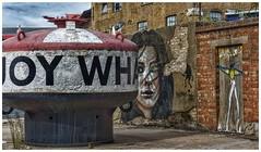 London Buoy Wharf (Paige O'Neill) Tags: industrial london paultalling derelictlondon abandoned urbanart streetart streetscenes graffiti trinitybuoywharf