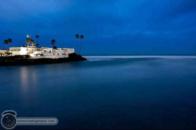 Del MAr Dog Beach at Night 32011 © Michael Klayman-001