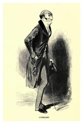 018-El ingles-Le juif errant 1845- Eugene Sue-ilustraciones de Paul Gavarni