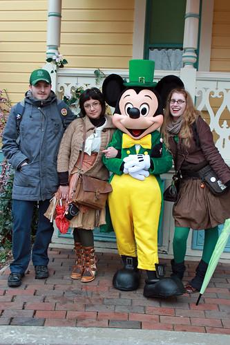 With Irish Mickey