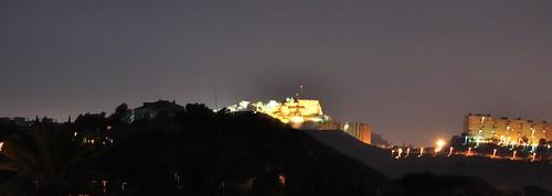 Castillo de Santa Bárbara desde Mutxamel