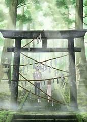 110325 - 改編自漫畫家「緑川ゆき」同名原作的劇場版《蛍火の杜へ》公開首張海報、男女主角聲優人選!