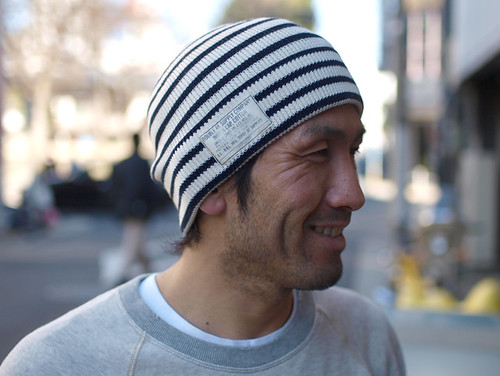 RRL / Stripe Watch Cap