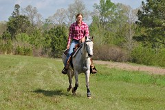 Clinton Arena Horse Show 19/30 (Marsh, D.) Tags: show horse woman phoenix lady nikon louisiana barrels clinton gray arena trail riding western poles rider equine equus quarterhorse placed participating greymare d3000 deesnke marshd