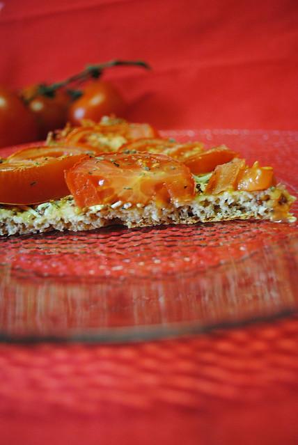 Spécial tartes Chapitre 1 : Tarte à la tomate et à la moutarde à l'ancienne (PL) - avec tolérés