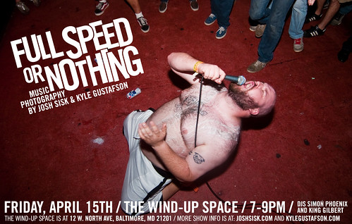 Full Speed Or Nothing show