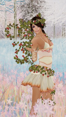 **Angelwing** The Spring Fairy in Cream Not Free but So Nice!!O.o
