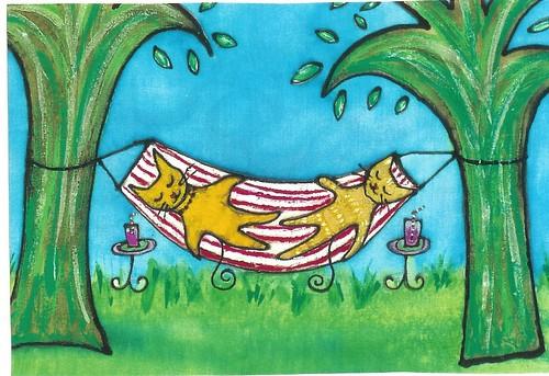 Lazy Day by Kathy V. Crabbe