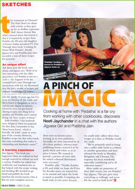 Femina covers the magic of traditional Indian Food Festival